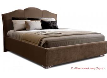 Двуспальная кровать с подъемным механизмом Lotos