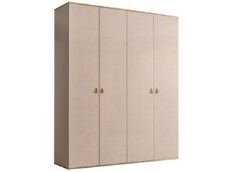 Четырехстворчатый шкаф для одежды Rimini РМШ2/4 (латте)