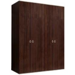 Четырехстворчатый шкаф для одежды Rimini РМШ2/4 (орех орегон)