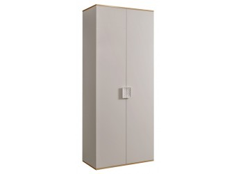 Двухстворчатый шкаф для одежды Diora ДШ2/2 (слоновая кость)