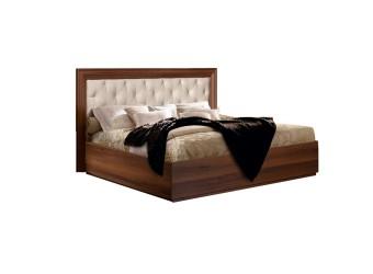 Двуспальная кровать с подъемным механизмом Амели АМКР140-2 с мягкой спинкой (ноче)