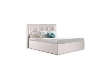 Односпальная кровать с подъемным механизмом Амели АМКР-7 с мягкой спинкой (дуб)