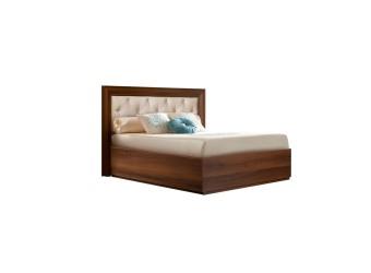 Односпальная кровать с подъемным механизмом Амели АМКР-7 с мягкой спинкой (ноче)