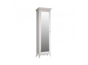 Одностворчатый шкаф для одежды с зеркалом Амели АМШ1/1 (дуб)