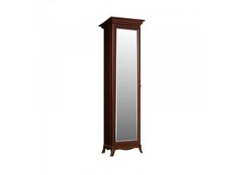 Одностворчатый шкаф для одежды с зеркалом Амели АМШ1/1 (ноче)