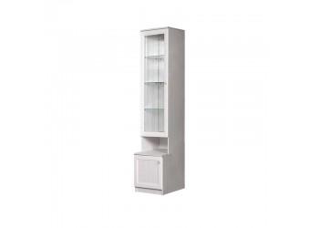 Шкаф-витрина для посуды Амели АМП-2C (дуб)