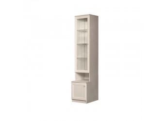 Шкаф-витрина для посуды Амели АМП-2C (штрих-лак)