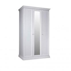 Трехстворчатый шкаф для одежды с зеркалом Амели АМШ1/3 (дуб)