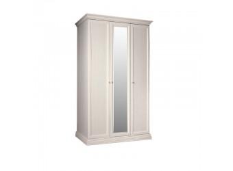 Трехстворчатый шкаф для одежды с зеркалом Амели АМШ1/3 (штрих-лак)
