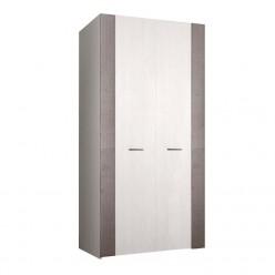 Двухстворчатый шкаф для одежды Челси Элеганс ЧШ2/2(Э) (дуб, серый)