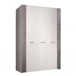 Трехстворчатый шкаф для одежды Челси Элеганс ЧШ2/3(Э) (дуб, серый)