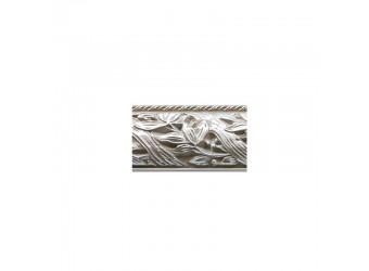 Комод-витрина для посуды Тиффани Премиум ТФКМ-3(П) (слоновая кость, серебро)