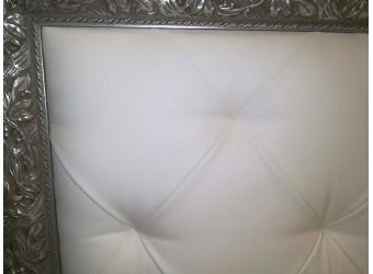 Двуспальная кровать с мягкой спинкой Тиффани ТФКР140-2 (золото)