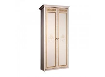 Двухстворчатый шкаф для одежды Карина-3 К3М-2 с шелкографией (бежевый)