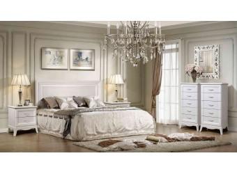 Спальня Амели 3 (выбеленный дуб)