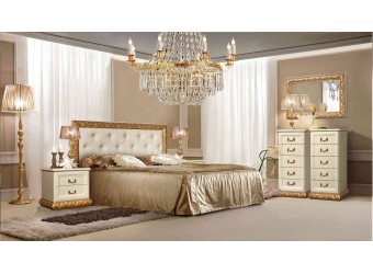 Спальня Тиффани (штрих-лак, золото)