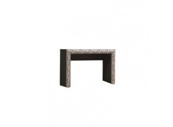 Туалетный столик Тиффани Премиум ТФСТ-1(П) (черный, серебро)