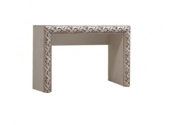 Туалетный столик Тиффани Премиум ТФСТ-1(П) (слоновая кость, серебро)