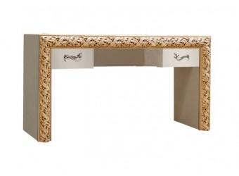Туалетный столик Тиффани Премиум ТФСТ-2(П) (слоновая кость, золото)