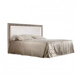 Двуспальная кровать с подъемным механизмом Тиффани ТФКР140-1 (серебро)