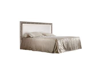 Двуспальная кровать Тиффани ТФКР140-1 (серебро)
