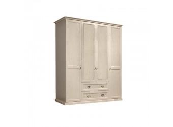 Четырехстворчатый шкаф для одежды Венеция ВНШ2/41 (дуб седан)