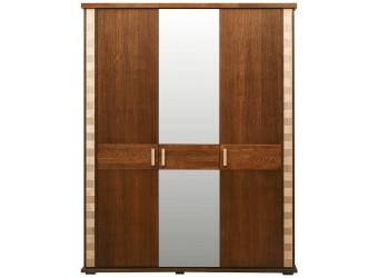 Шкаф для одежды «Тунис» П344.01 (венге с золочением)