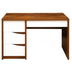 Письменный стол Монако П 510.15 (дуб саттер/белый глянец)
