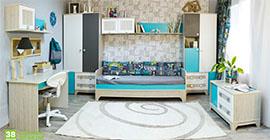 Детская мебель Индиго 38 попугаев