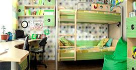 Детская мебель Полосатый рейс 38 попугаев