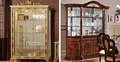 Шкафы-витрины ДИА Мебель