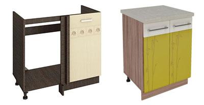 Шкафы под мойку для кухни