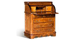 Бюро, этажерки, сундуки, секретеры от Лидской мебельной фабрики