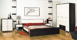 Спальня Домино Венге от Мебель-Неман