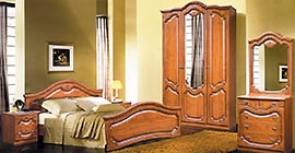 Спальня Орхидея (черешня) от Мебель-Неман