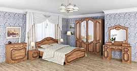 Спальня Орхидея от Мебель-Неман