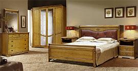 Спальня Лика (медовый дуб) от Молодечномебель