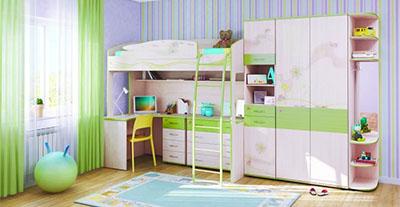 Детская мебель Давита (Витра)