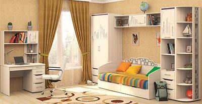 Детская Мегаполис от Давита-мебель (Витра)