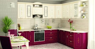 Кухня Виктория от Витра (Давита-мебель)