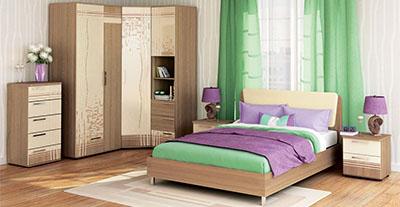 Спальня Бриз от Давита-мебель (Витра)