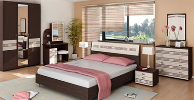 Спальня Ривьера от Давита-мебель (Витра)