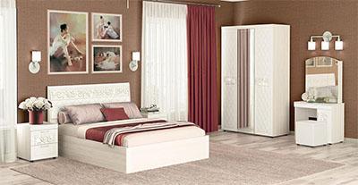 Спальня Тиффани от Давита-мебель (Витра)