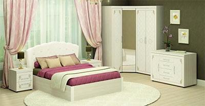 Спальня Версаль от Давита-мебель (Витра)